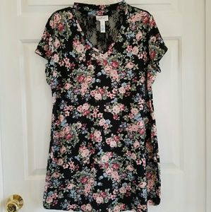 Just Be/ floral mini dress